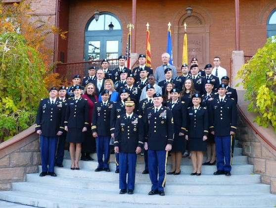 ASU_GCU Winter Army ROTC Commissioning Dec13